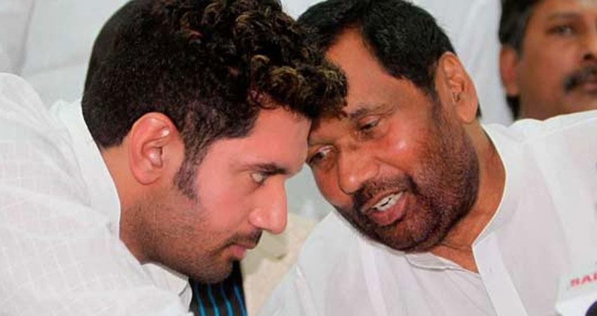 chirag paswan ljp suggested bjp to contest one seat more than jdu in bihar rkdsnt