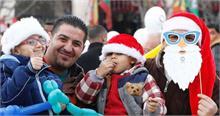 क्रिसमस मनाने के लिए बेथलेहम में उमड़े दुनिया भर के श्रद्धालु