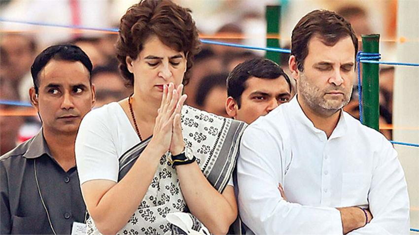 hathras case rahul gandhi released video of conversation with the victim family
