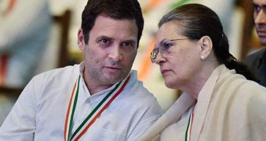 sonia gandhi manmohan singh congress concern over slowdown economy attacks bjp modi govt
