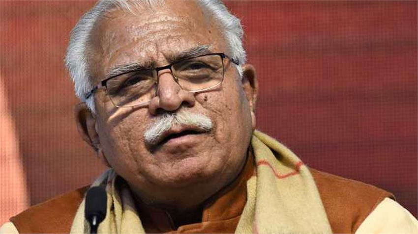 Haryana CM MK Khattar appeals to farmers to withdraw the Movement rkdsnt