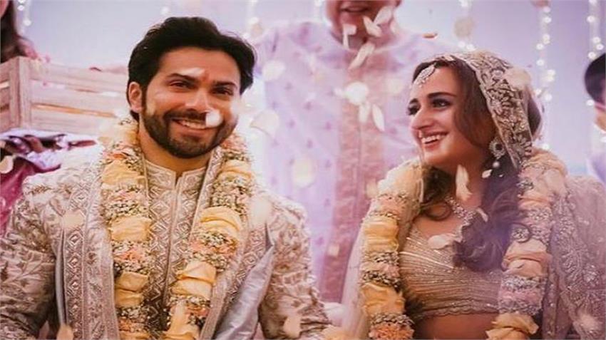 varun dhawan arrived at the wedding venue on salman khans  jsrwnt